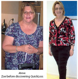 Zoe's Weight Loss Story